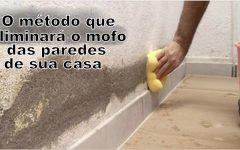 O método que eliminará definitivamente o mofo das paredes de sua casa.