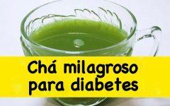 Chá milagroso para diabetes – os ingredientes você já tem em casa
