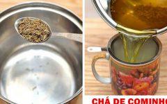 Chá de cominho: Tome uma vez por dia e verifique seu peso após 7 dias
