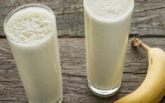 Essa receita de batida de banana elimina toda a gordura da barriga, coxas e costas
