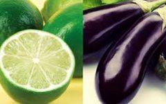 Chá detox de berinjela e limão para perder peso e desinchar a barriga
