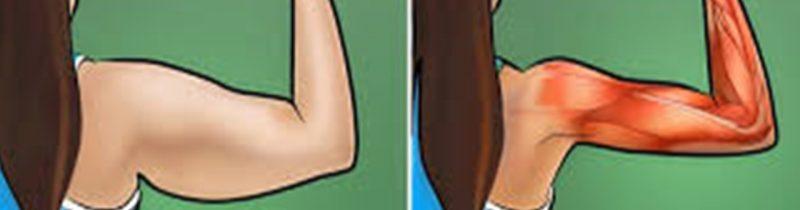 5 exercícios para eliminar gordura e flacidez dos braços em casa