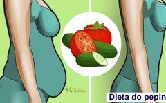 Dieta do pepino – Faça durante 7 dias e perca até 4kg de gordura