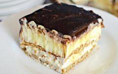 Essa torta deliciosa não precisa ir ao forno e é super fácil de fazer