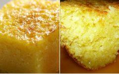 Bolo de milho cremoso, fica tão gostoso que parece pamonha!