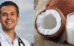 """Óleo de coco é veneno? Renomado cardiologista rebate: """"Isso é um absurdo"""""""