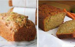 Pão fácil e delicioso de cenoura – sem glúten, sem lactose e de liquidificador