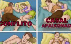 O que a posição de dormir revela sobre seu relacionamento