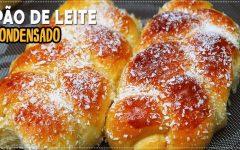 Pão de Leite Condensado com Coco