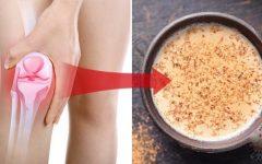 Fortaleça a cartilagem e reduza a dor nas articulações com esta receita natural.
