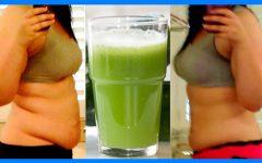Bebida Para Derreter a Gordura da Barriga em 3 Dias!