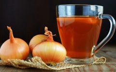 Como Fazer Chá de Cebola para secar a barriga e emagrecer rápido