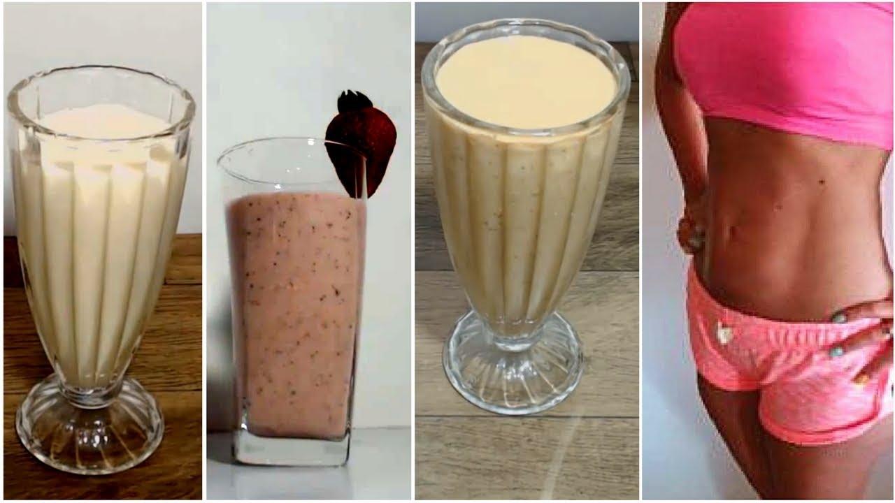 3-shakes-caseiros-para-emagrecer-e-perder-peso-substitua-1-refeicao-para-perder-5-kg-de-barriga