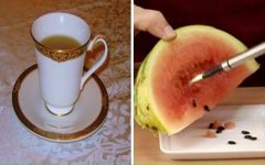 O chá de semente de melancia é um verdadeiro remédio, saiba como fazê-lo!