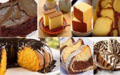 10 Receitas de bolo simples para o café da tarde