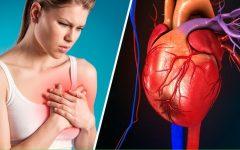 5 Sintomas de infarto feminino e como evitar o problema
