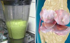 Como fazer suco de couve para dor nos ossos