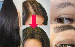 Receita caseira com óleo de rícino que faz crescer cabelos e sobrancelhas rápido !