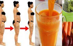 Tome isso 2 vezes ao dia e veja a gordura derreter e o seu corpo desinchar rapidamente