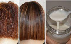 Alise naturalmente e dê brilho ao seu cabelo com este método caseiro