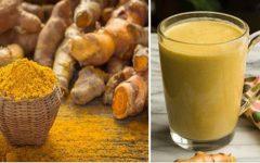 Detox de limão, gengibre e açafrão ajuda a emagrecer