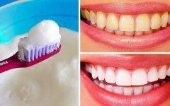 10 métodos para Clarear os dentes em casa