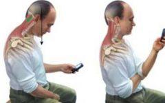 Má postura causa problemas de coluna, muscular e até enxaqueca