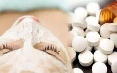 Truque caseiro: peeling de Aspirina para uma pele sem manchas, cicatrizes e acne