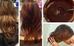 Receitas caseiras para escurecer os cabelos