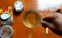 Chá de erva-doce com bicarbonato de sódio – contra dor de cabeça, insônia e derrame