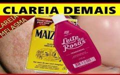 Maizena com leite de rosas: elimina o mau odor e ajuda a clarear as axilas