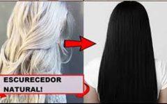 Hidratação que escurece o cabelo