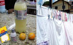 Alvejante caseiro: como deixar o branco mais branco