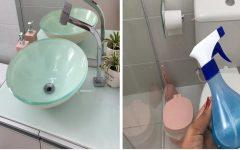 Como deixar o banheiro limpo e cheiroso com receitas caseiras