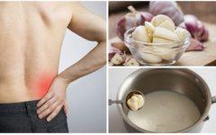 Leite de arroz com alho e açafrão: remédio caseiro para dor ciática