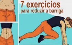 7 exercícios para ajudar a reduzir as gorduras da sua barriga