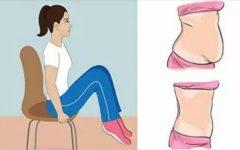 5 exercícios que você pode fazer agora mesmo na cadeira onde está sentado!