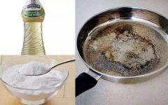 4 soluções caseiras para limpar panelas queimadas
