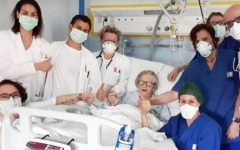 Mulher de 95 anos que superou coronavírus e se tornou rosto da esperança na Itália