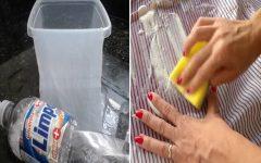 Como tirar mancha de gordura da roupa?