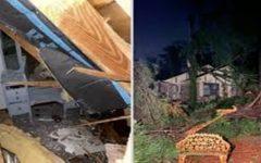 """Mulher sobrevive a tornado após ouvir Deus na madrugada: """"Ele me disse para levantar"""""""