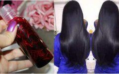 Shampoo bomba de hibisco para o cabelo crescer forte e saudável