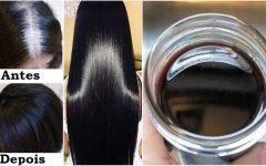 Receita para escurecer os cabelos sem produtos químicos
