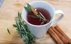 Chá de alecrim com canela: para prevenir gripe e diabetes