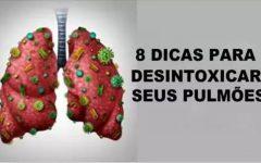 8 dicas para você desintoxicar completamente os seus pulmões