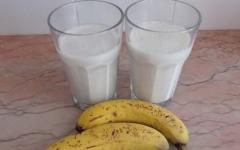 Batida de banana e gengibre para remover toda a gordura da barriga, coxas e costas