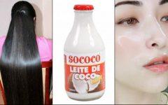 Use o Leite de Coco Para Hidratar o Cabelo e Remover Manchas da Pele!