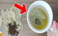 Chá de louro com cravo-da-índia: combate dores na coluna e articulações