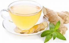 Chá de hortelã com gengibre: anti-inflamatório e também ajuda a emagrecer