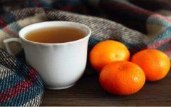 Chá com casca de tangerina, um remédio para dormir em 5 minutos?